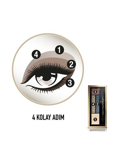 Smokey Eye Drama Kit 4'Lü Far Paleti  05 Magnet Jades-Max Factor